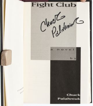 Image 6 of 8 for Fight Club (Signed First Edition