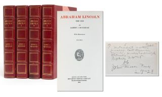 Image 1 of 9 for Abraham Lincoln, 1809-1858 (Manuscript Edition in 4 vols