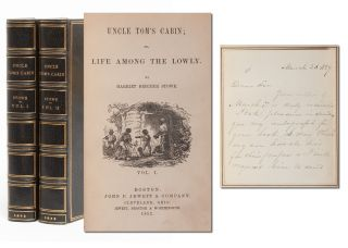 Image 1 of 10 for Uncle Tom's Cabin; or, Life Among the Lowly (with ALS