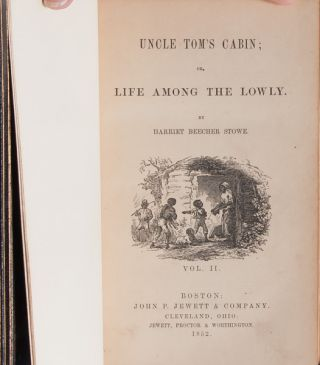 Uncle Tom's Cabin; or, Life Among the Lowly (with ALS)