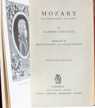 Image 5 of 7 for Mozart: His Character, His Work [Cosway style binding