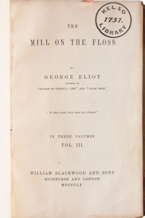 The Mill on the Floss (in 3 vols.)