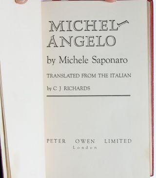 Image 4 of 8 for Michelangelo [Cosway style binding