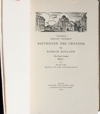 Image 4 of 8 for Beethoven the Creator [Cosway style binding