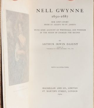 Image 5 of 9 for Nell Gwynne, 1650-1687: Her Life's Story From St. Gile's to St. James'