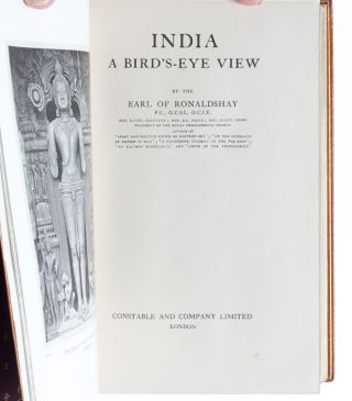 Image 5 of 8 for India, A Birds-Eye View [Cosway style binding