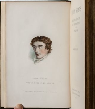 Image 5 of 9 for John Keats: His Life and Poetry, His Friends and Critics, and After Fame [Cosway...
