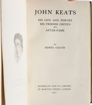 Image 6 of 9 for John Keats: His Life and Poetry, His Friends and Critics, and After Fame [Cosway...