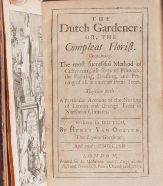 Image 5 of 8 for The Dutch Gardener: or, the Compleat Florist