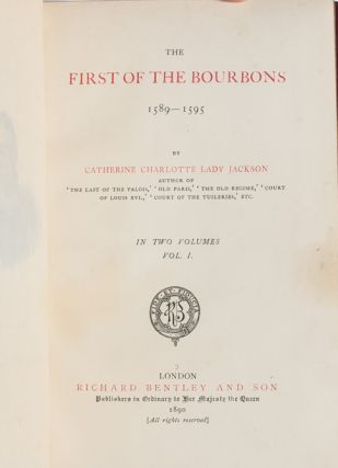 The First of the Bourbons, 1589-1595 [Cosway style binding]