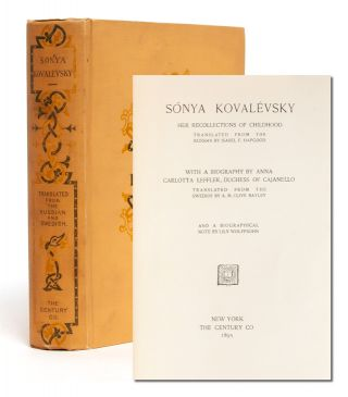 Image 1 of 9 for Sonya Kovalevsky, Her Recollections