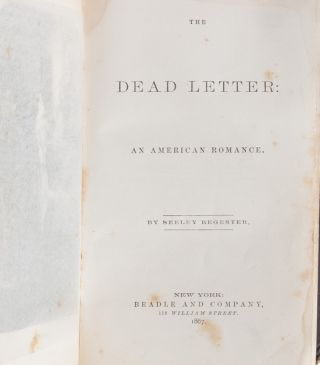 The Dead Letter. An American Romance
