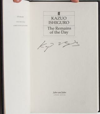 The Remains of the Day (Signed First Edition)