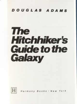 Image 5 of 7 for The Hitchhiker's Guide to the Galaxy