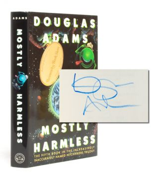 Image 1 of 7 for Mostly Harmless (Signed First Edition