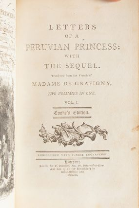 Image 7 of 9 for Letters of a Peruvian Princess: With the Sequel (Association Copy