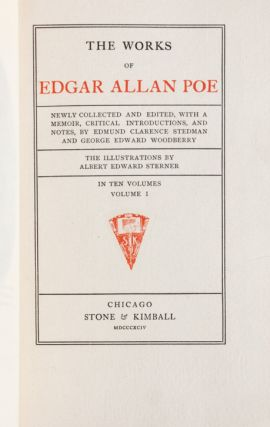 Image 8 of 9 for The Works of Edgar Allan Poe (in 10 vols
