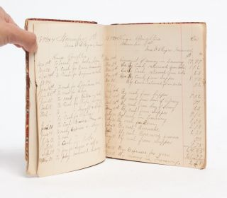 Financial Ledger and Minutes of the Order of the King's Daughters of Bangor, New York
