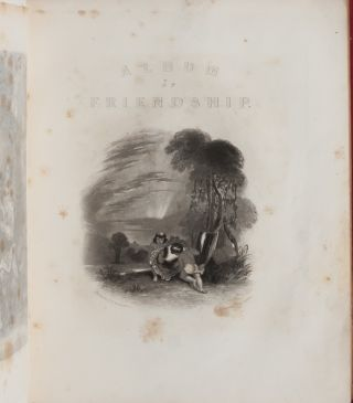 Image 4 of 9 for Literary commonplace book and friendship album of a 19th century California girl...