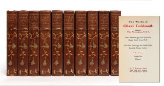 Image 1 of 8 for The Works of Oliver Goldsmith in 10 Volumes (Turk's Head Edition