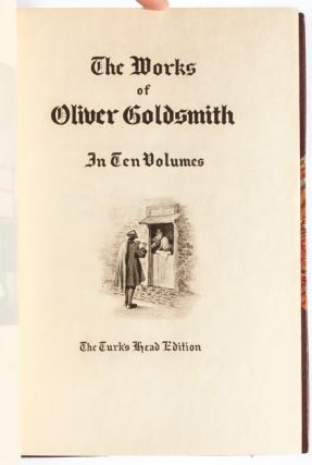 Image 6 of 8 for The Works of Oliver Goldsmith in 10 Volumes (Turk's Head Edition