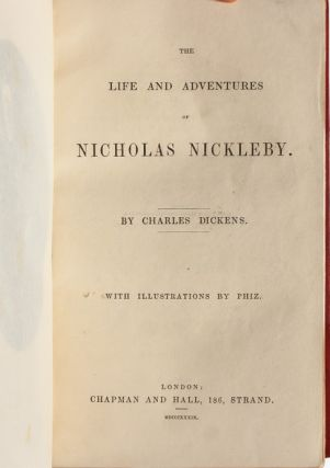 Image 5 of 8 for The Life and Adventures of Nicholas Nickleby