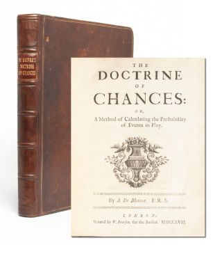 Image 1 of 6 for The Doctrine of Chances: or, a Method of Calculating the Probability of Events...