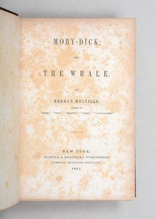 Moby-Dick; or, The Whale