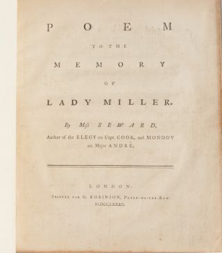 Image 4 of 6 for Poem to the Memory of Lady Miller