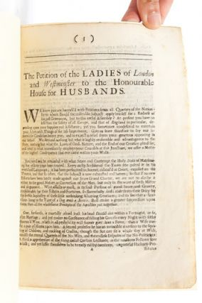 Image 3 of 5 for Petition of the Ladies of London and Westminster to the Honourable House for...
