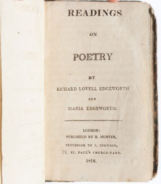 Readings on Poetry