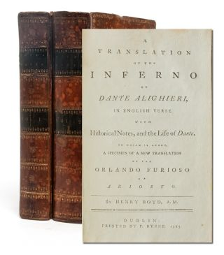 Image 1 of 6 for A Translation of the Inferno of Dante Alighieri, in English Verse. With...