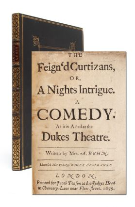 Image 1 of 7 for The Feign'd Curtizans, or, A Night's Intrigue. A Comedy