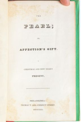 Image 6 of 9 for The Pearl; or, Affection's Gift
