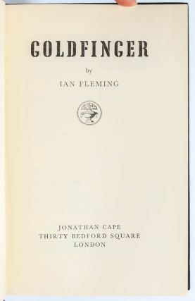 Image 6 of 8 for Goldfinger (Signed first edition