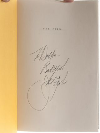 Image 6 of 9 for The Firm (Inscribed first edition