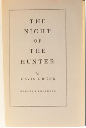 Image 6 of 8 for The Night of the Hunter (First edition signed