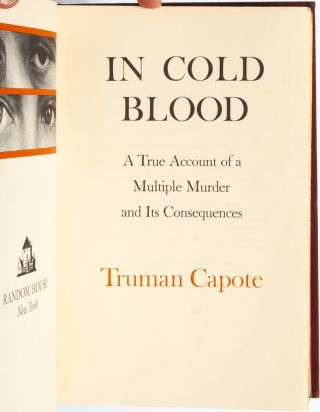 Image 7 of 9 for In Cold Blood (Inscribed
