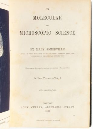 On Molecular and Microscopic Science (in 2 volumes)
