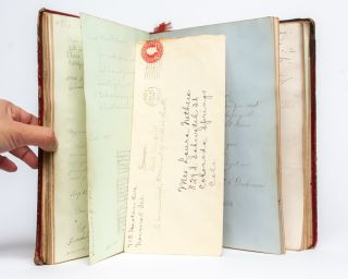 Friendship album lasting 64 years and tracing a woman's life from Kentucky to Colorado