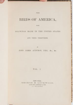 Image 2 of 11 for The Birds of America [together with] The Quadrupeds of North America