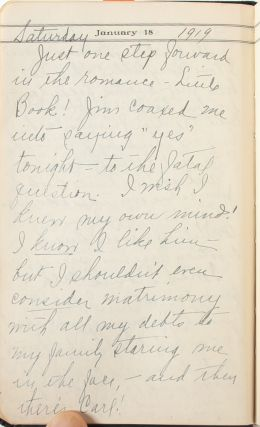 Extensive diary of a WWI Red Cross nurse