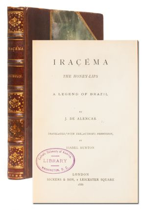Image 1 of 7 for Iracema, or Honey Lips; and Manuel de Moraes the Convert