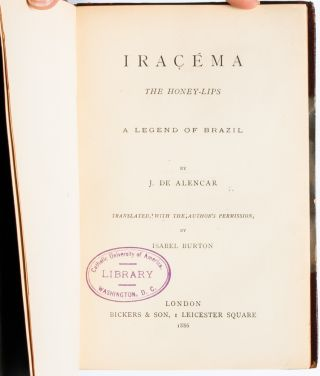 Image 4 of 7 for Iracema, or Honey Lips; and Manuel de Moraes the Convert