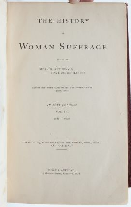 Image 6 of 8 for History of Woman Suffrage (Presentation Copy