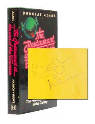 The Hitchhiker's Guide to the Galaxy series (Signed First editions)