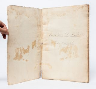 Mathematics notebook of a 16 year old girl being educated in the 19th century