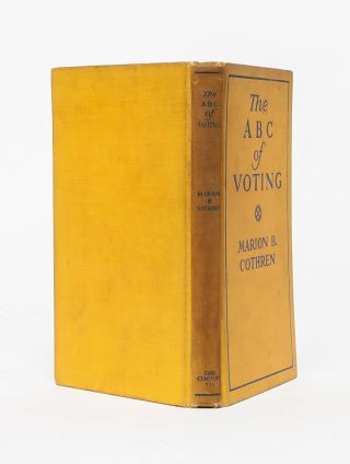 Image 2 of 7 for The ABC of Voting: A Handbook on Government and Politics for the Women of New...