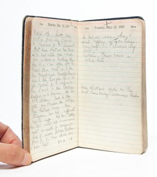 Image 4 of 7 for A nurse and women's club leader keeps a diary in the year American women gained...