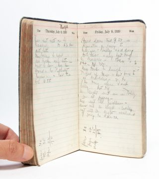 Image 5 of 7 for A nurse and women's club leader keeps a diary in the year American women gained...